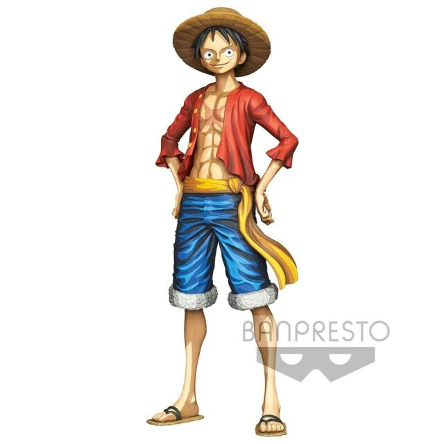 MONKEY D LUFFY Figure Statue 27cm Manga Dimensions Grandista ONE PIECE BANPRESTO