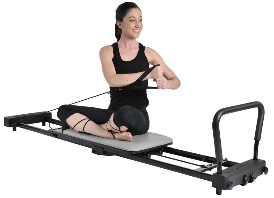 Stamina AeroPilates AeroPilates AeroPilates Pilates Reformer low-impact Cardio Workout Exercise 55-4287 25241b