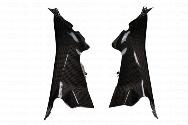 Ducati 899//959//1199//1299 Panigale Air Ram Intake Top Panel Covers Carbon Fiber
