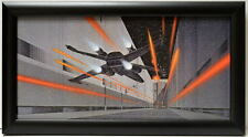 Star Wars X-WING FACES HAIL Of LASER FIRE FRAMED CONCEPT PRINT McQuarrie 1977