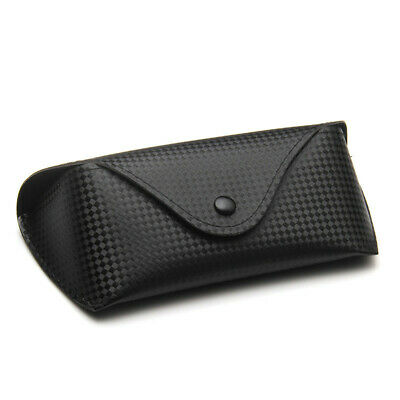 High Quality Soft Leather Spectacle All Black Colour. Glasses Case Holder