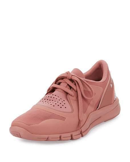 Adidas Stella McCartney Alayta Plaster Pink Womens Knit Sneakers Size 10.5 New