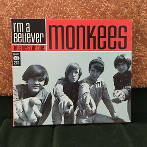 MONKEES-IM-A-BELIEVER-BEST-OF-ROCK-POP-CD-STEPPING-STONE-CIRCLE-SKY-ETC