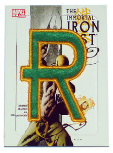 2014-Marvel-Premier-Iron-Fist-Code-Name-Insert-Card-Upper-Deck-Patch-CN-10