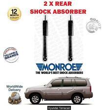 für Hyundai Terracan 2.5 2.9 3.5 2001-2006 2 x Hinterer Stoßdämpfer Shocker Set