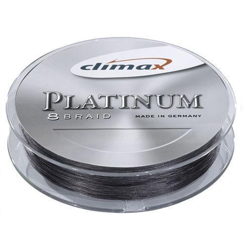 Climax Platinum 8 Braid grau-violett Schnur 0,16mm 7 15,5kg grau