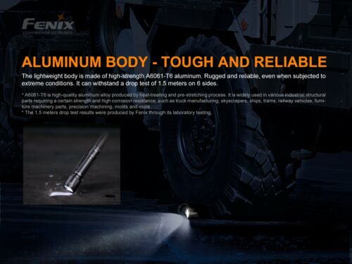 New Fenix TK11 TAC 1600 Lumens LED Flashlight Torch