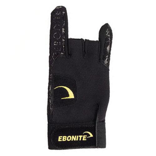 Ebonite Bowling Black React//R Bowling Glove Choose your size Free ship!
