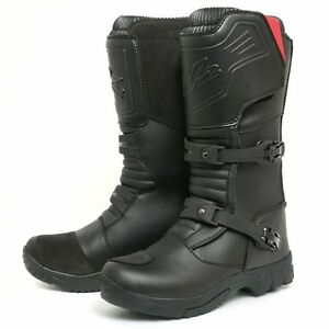 W2 TT Adventure Motorcycle Motorbike Leather Boots Clearance Sale ...