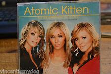 ATOMIC KITTEN - THE TIDE IS HIGH (3 tracks plus video CD single)