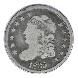 1835 Capped Bust Half Dime Very Good