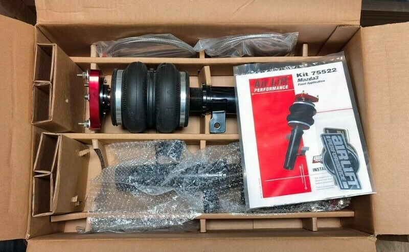 New Airlift Performance Mazda 3 / Ford Focus ST / Volvo C30 Front Airsuspension Kit