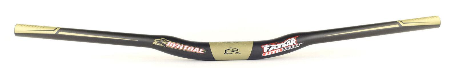 Renthal Fatbar Lite Carbono MTB Bici de Montaña Barra 35.0 X 20mm Subir X 760mm