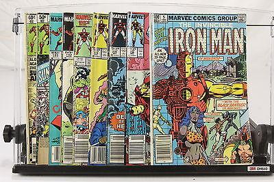 Lot of 9 1970-80s Marvel Comic Books Iron Man #127 143 184 192 212 224 230 236 +