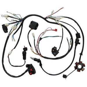 [DIAGRAM_34OR]  WIRING HARNESS LOOM GY6 125cc 150cc Chinese Electric start Kandi Go kart  dazon | eBay | Buggy Wiring Harness Gy6 150cc Chinese Electric Start Kandi Go |  | eBay