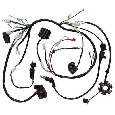 kandi 150cc engine wiring diagram wiring harness loom gy6 125cc 150cc chinese electric start kandi  wiring harness loom gy6 125cc 150cc