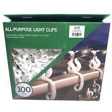 Gutter Hooks All Lights Adams All-Purpose New Christmas Light Clips 50 Ct
