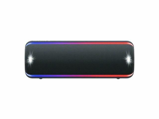 Sony Srs Xb32 B Portable Waterproof Bluetooth Speaker Black For Sale Online Ebay