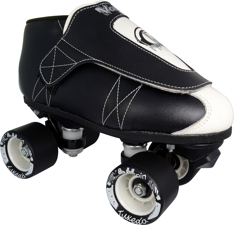 Tuxedo Jam Skates - Quad Roller Skate - Rythmn Skating - Men & Damens - Vanilla