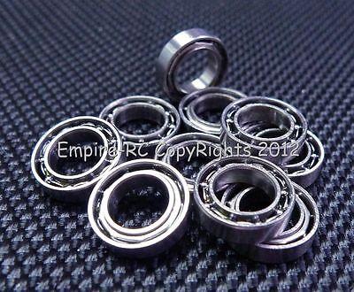 (4 PCS) MR63 (3x6x2 mm) Metal OPEN PRECISION Miniature Ball Bearing 3*6*2