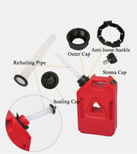 1x Rubbermade Replacement Gas Can Spout Parts Fit Fuel Container Kit