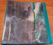 vintage mead trapper keeper 1994 zoosters 3 ring binder baby koala bear notebook