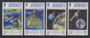 Jersey-1991-Europa-Europe-En-Espace-Ensemble-MNH-Sg-545-8