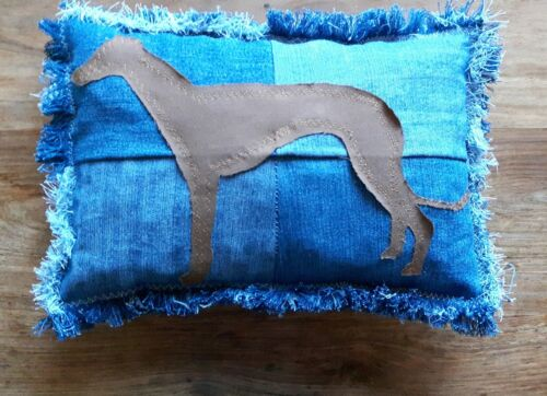 Greyhound Cushion,Handmade Squishy,Child Pillow,Camping Pillow Whippet Lurcher