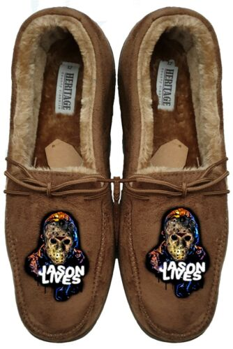 jason lives Mens slippers custom shirt horror freddy krueger film print shirt