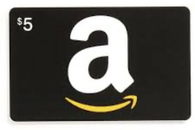 $5 Amazon Gift Card (digital delivery)