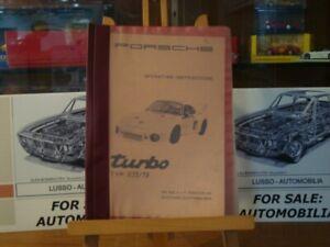 Super-rare-Porsche-935-79-Turbo-manual-EN-and-Spare-parts-catalog-935-77-GE