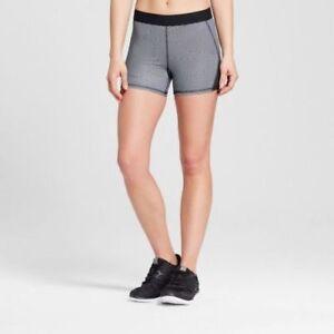 fc4bd4e700cf c9 Champion women s Printed Compression Shorts Black White size 2XL ...