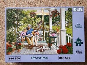 "Hop 500 GRANDE Pezzo Puzzle - ""STORYTIME"""
