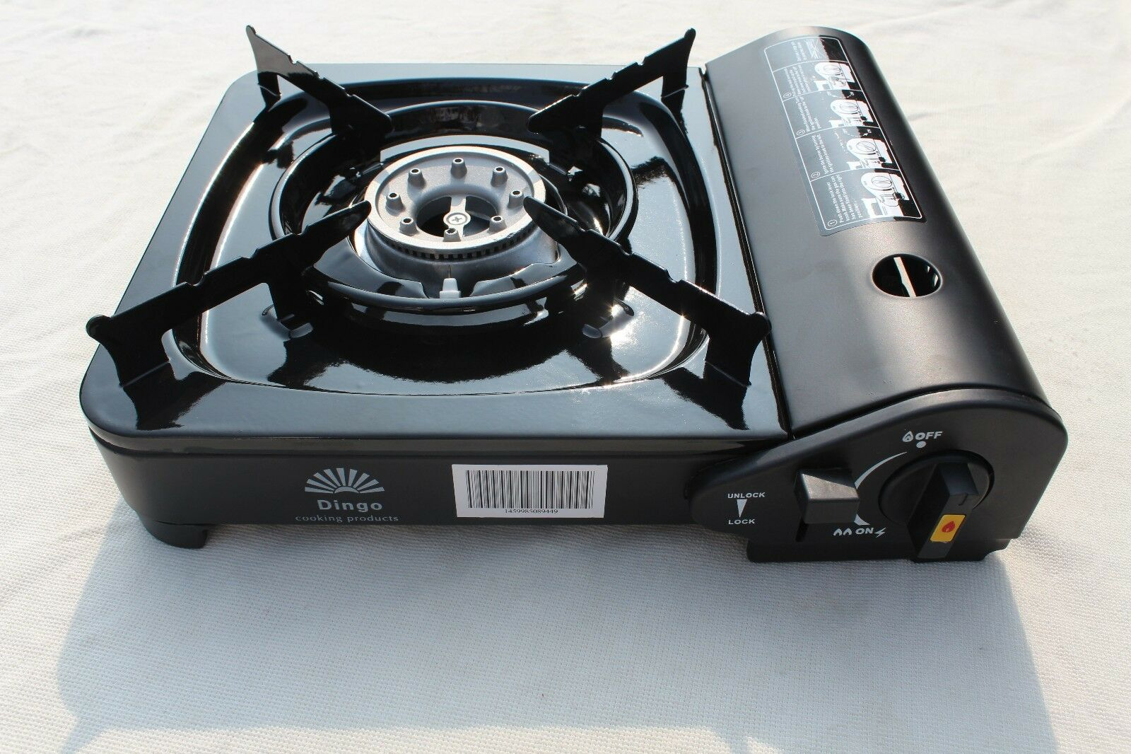 400 8,000 btu portable camping burners sold at one time