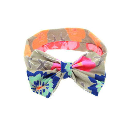 Bunny Rabbit Ears Bowknot Headband Hair Band Headwrap For Baby Toddler Girl Kid