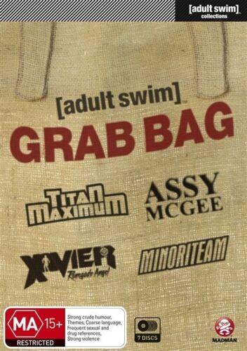 1 of 1 - Adult Swim - Grab Bag Collection (DVD, 2012, 7-Disc Set)-REGION 4--Free postage
