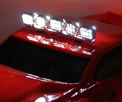 RC Toy Light Bar with 5 working LEDs Custom Made 5W-Bar CLG