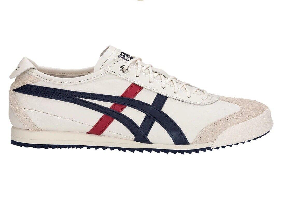 ZAPATOS ASICS ASICS ASICS ONITSUKA TIGER MEXICO 66 SD SUPER DELUXE D838L LEATHER zapatos 6a5096