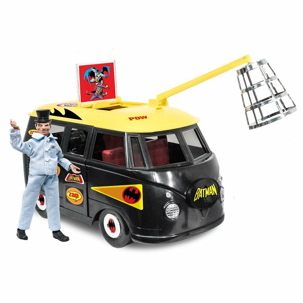 Official DC Comics Bus Batlab Playset With Exclusive Penguin Figure by FTC