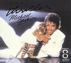 Michael jackson thriller (cd, album, club edition, reissue.