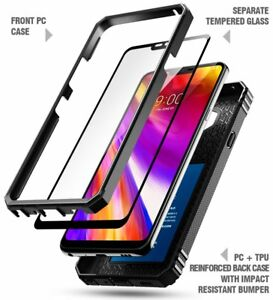 cheap for discount 462bc d5d04 For LG G7 ThinQ / LG G7 Case [360° Protective] Premium Shockproof ...