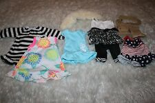 """18"""" Doll Outfit/Accessories Lot, Gowns, Dresses, Boots, Cute Outfit 10 pieces!"""
