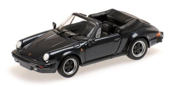 Porsche 911 Carrera Cabriolet 1983 Graphite Metallic 1 43 Model MINICHAMPS