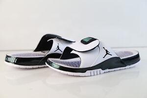 bd52514caa23e Details about Air Jordan Hydro XI Retro Slide Easter Emerald Rise White  AA1336-117 7-14 sandal