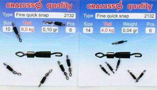 8 kg genial Float Cralusso Fine Quick Snaps 4 kg Matchrute Waggler