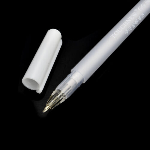 Plastic Artist Archival Fine Tip Sketching Drawing Painting White Gel Ink Pen