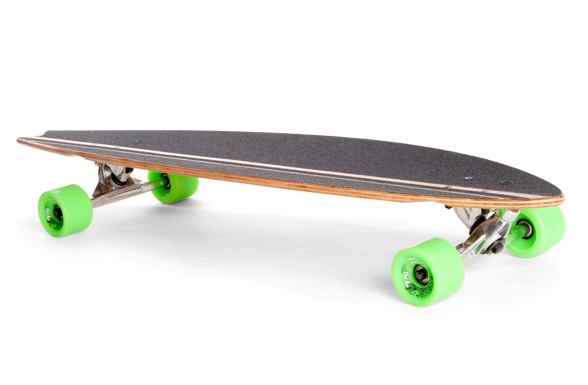 Mindless Complete Longboard Peche - 39.5 x 9.375 inch - - - Canadian   Bamboo Wood 9f0566