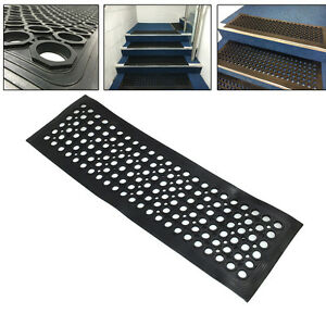 Image Is Loading Heavy Duty Rubber Stair Treads Step Mats Covers