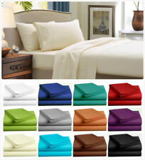 1000TC Ultra SOFT Sheet Set (3PC FITTED SHEET SET) or (4PC SHEET SET) Bed New