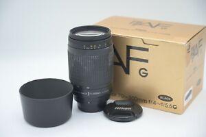 Nikon AF DX NIKKOR 70-300mm f/4-5.6G EXCELLENT Condition